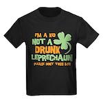 Kid Not Leprechaun Kids Dark T-Shirt