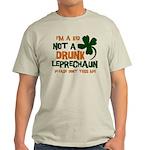 Kid Not Leprechaun Light T-Shirt