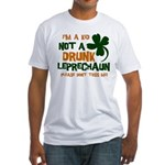Kid Not Leprechaun Fitted T-Shirt