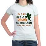 Kid Not Leprechaun Jr. Ringer T-Shirt