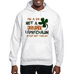 Kid Not Leprechaun Hooded Sweatshirt
