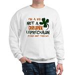 Kid Not Leprechaun Sweatshirt