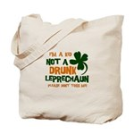 Kid Not Leprechaun Tote Bag