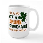Kid Not Leprechaun Large Mug