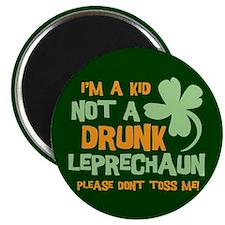 Kid Not Leprechaun Magnet