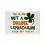 Kid Not Leprechaun Rectangle Magnet (10 pack)
