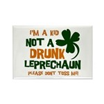 Kid Not Leprechaun Rectangle Magnet (100 pack)