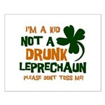 Kid Not Leprechaun Small Poster