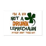 Kid Not Leprechaun Mini Poster Print