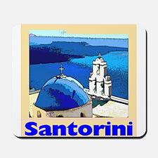 Santorini Greece Mousepad