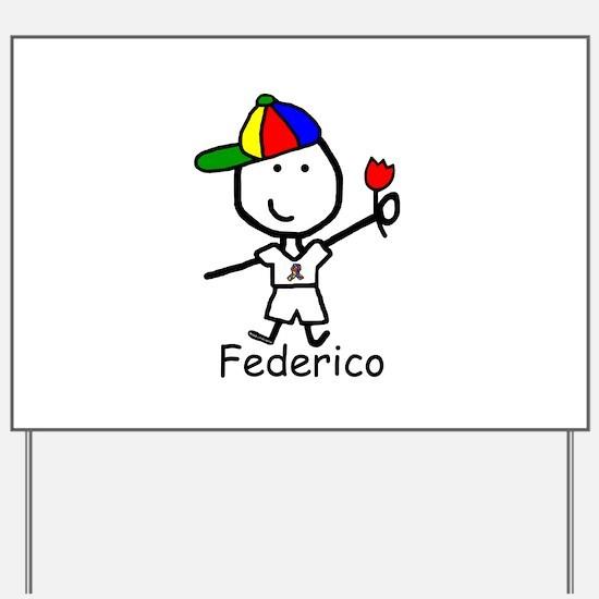 Autism - Federico Yard Sign