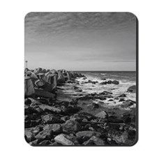 A calm day at the Pacific Ocean Mousepad