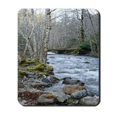 Spring Afternoon at the River Mousepad