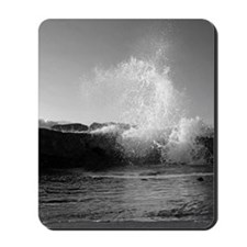 High Tide on the North Jetty Mousepad