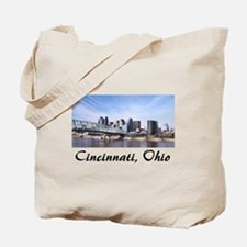 Cincinnati Ohio Tote Bag