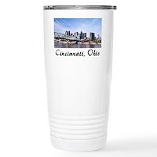 Cincinnati Ohio Travel Mug