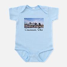 Cincinnati Ohio Infant Bodysuit