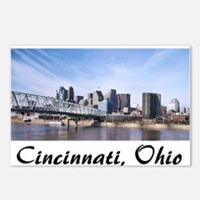 Cincinnati Ohio Postcards (Package of 8)