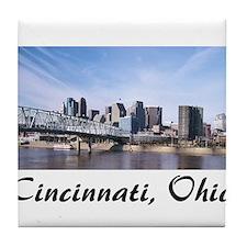 Cincinnati Ohio Tile Coaster