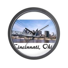 Cincinnati Ohio Wall Clock