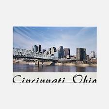 Cincinnati Ohio Rectangle Magnet (10 pack)