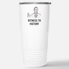 Witness To History Travel Mug