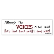 The Voices Bumper Bumper Sticker