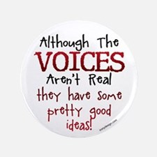 "The Voices 3.5"" Button (100 pack)"