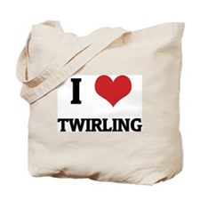 I Love Twirling Tote Bag