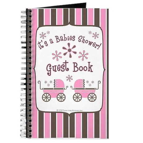 Babie's Shower - Twin Girls - Guest Book
