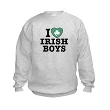 I Love Irish Boys Sweatshirt