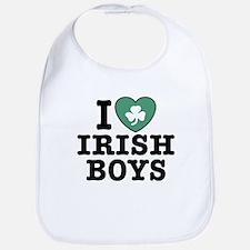 I Love Irish Boys Bib