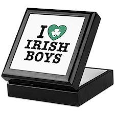 I Love Irish Boys Keepsake Box