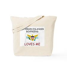 My Welsch Boyfriend Loves Me Tote Bag