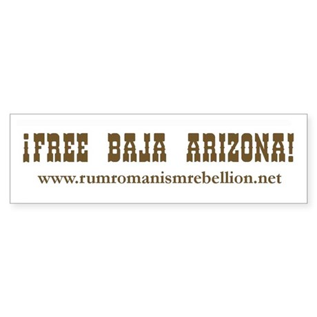 Baja Arizona Bumper Sticker