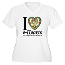 Personalized e-Hearts T-Shirt
