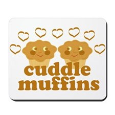 Cuddle Muffins in Love Mousepad