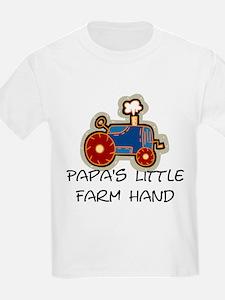 Papa's little farm hand T-Shirt