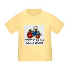 Papa's little farm hand T