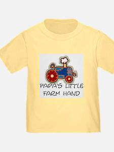 Papa's little farm hand T