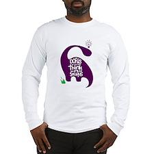 Doris the Think-A-Saurus Long Sleeve T-Shirt