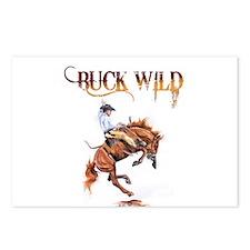 Buck wild Postcards (Package of 8)