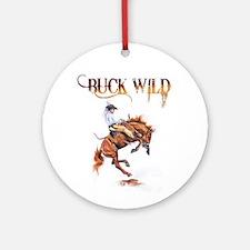 Buck wild Ornament (Round)
