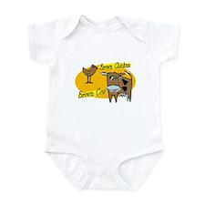 Brown chicken Brown Cow Infant Bodysuit