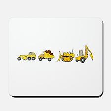 Trucks! Mousepad