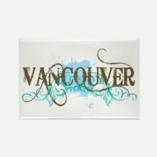 Vancouver Rectangle Magnet (10 pack)