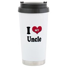 I Love My Uncle Travel Mug