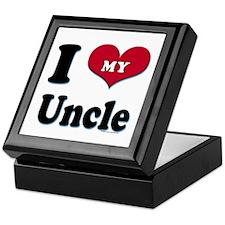 I Love My Uncle Keepsake Box