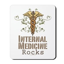 Internal Medicine Rocks Mousepad