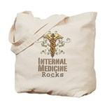 Internal Medicine Rocks Tote Bag